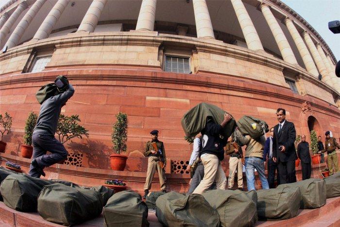 Parliament adjourned till noon