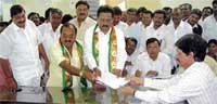 Four more file nominations for Council elections from Kolar