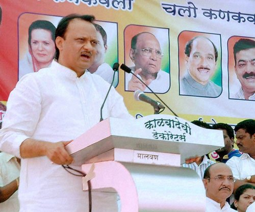 AAP complaint against Maha Deputy CM for threatening villagers