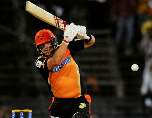 Sunrisers Hyderabad post 184/1 against Delhi Daredevils