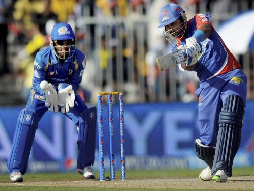 Delhi Daredevils beat Mumbai Indians by six wickets