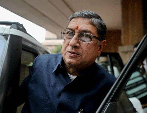 Supreme Court rejects plea to restore Srinivasan as BCCI chief