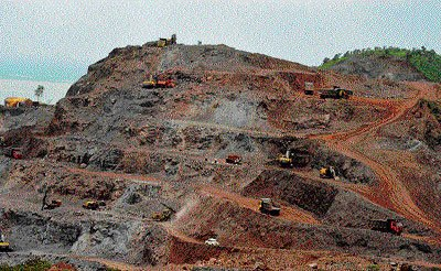 Bellary mines on verge of reaching SC-prescribed cap
