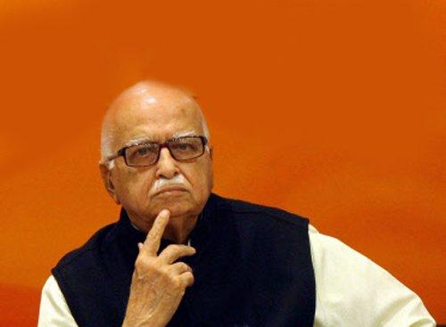 Advani loses room in Parliament?