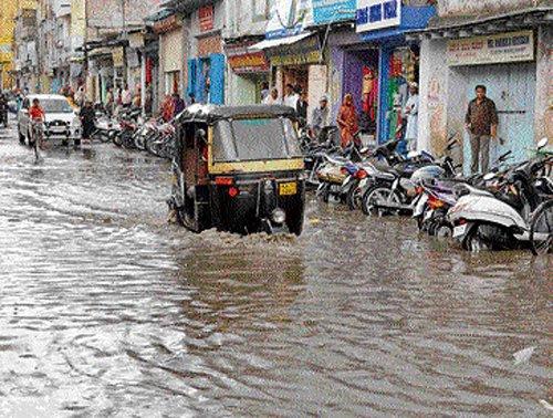 Rain lashes Udupi, Raichur, parts of Malnad