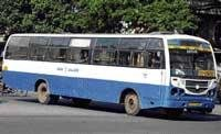 Stolen BMTC bus found near Tumkur