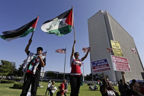 British parliament 'symbolically' recognises Palestine state