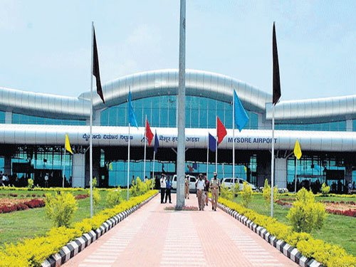 Swan song: Last flight from Mysore takes off