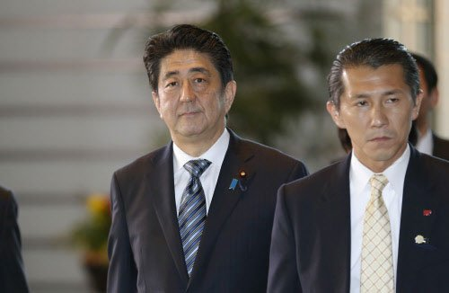 Japan parliament re-elects Abe as prime minister