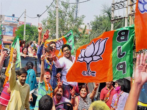 BJP to win 35 seats in Delhi, AAP may get 29: Opinion poll