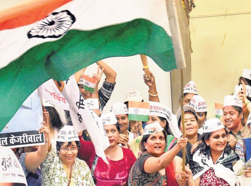 AAP to be 'credible' Oppn to Modi
