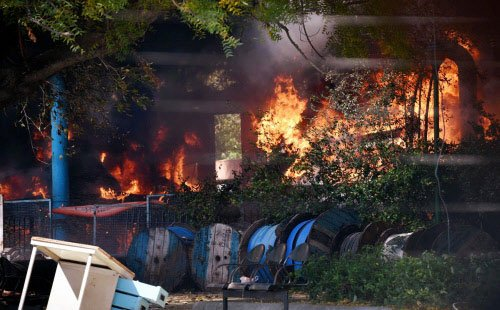 MHA seeks report on fire in Parliament complex