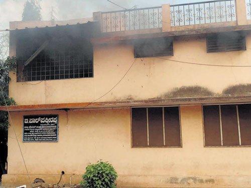 Files destroyed in fire at Ballari sub-registrar's office