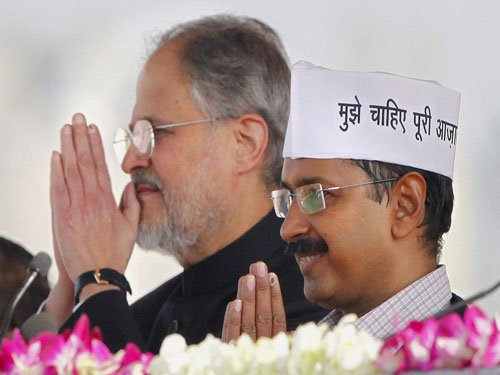 Centre's notification unconstitutional: experts to AAP govt