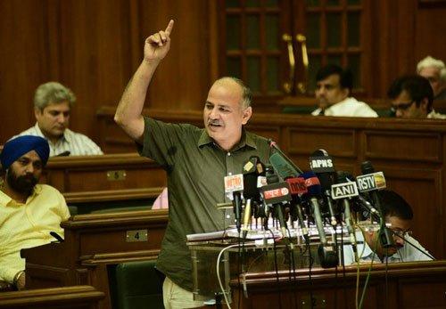 AAP unveils Rs.41,129 crore Delhi budget