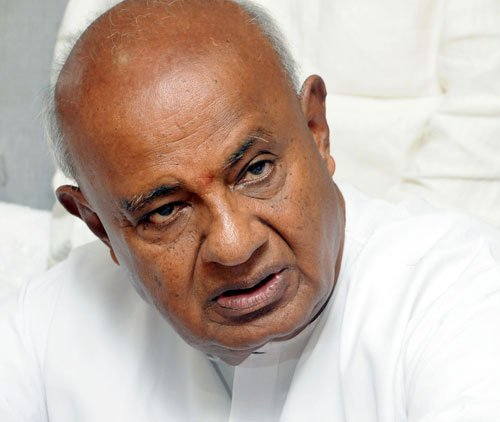 Both BJP, Cong to blame for logjam in Parliament: Gowda