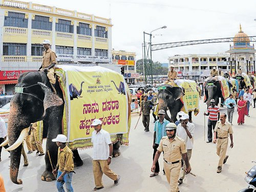 On the trail of what seemed like a trailer for 'Jamboo Savari'