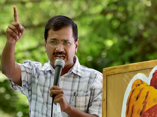 Act or hand over Delhi police to us, Kejriwal to PM