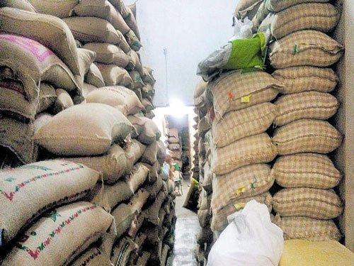 Officials seize 3,600 quintals of dal in Mysuru, Kalaburagi