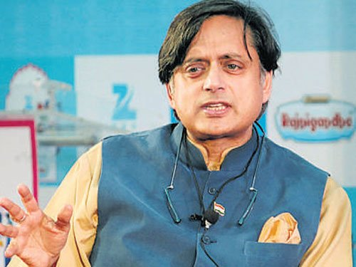 Onus of running Parliament smoothly on govt as well: Tharoor