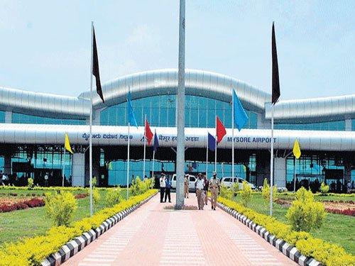Demand for resumption of commercial flights from Mysuru