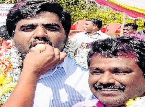It's sweet revenge for BJP nominee in Devadurga