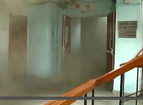 Fire breaks out in Parliament Annexe, no casualties