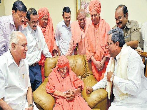 Siddaganga Mutt seer hospitalised with jaundice