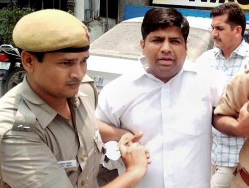 AAP MLA Mohaniya's bail dismissed, sent to jail till Monday