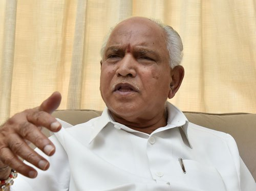 BJP will raise DySP Ganapathi suicide issue in Parliament: BSY