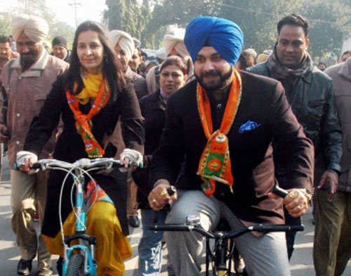 AAP only option for Navjot Sidhu: Wife