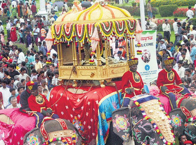 Helicopter ride planned during Mysuru Dasara