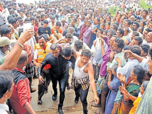 Shivamogga village in collective grief