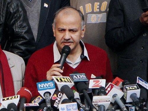 Burari murder: Sisodia hits out at Delhi Police