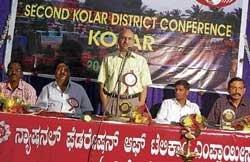 'Work hard to make Kolar Telecom number one in State'