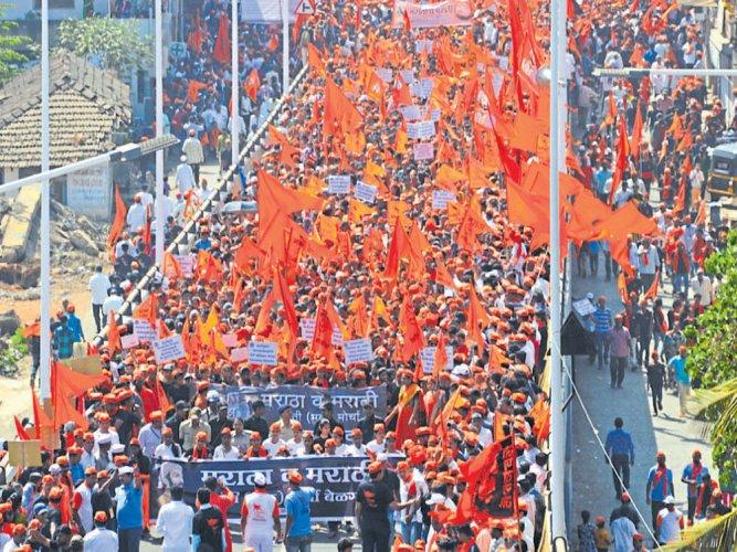Mixed response to Maratha Kranti Morcha in Belagavi