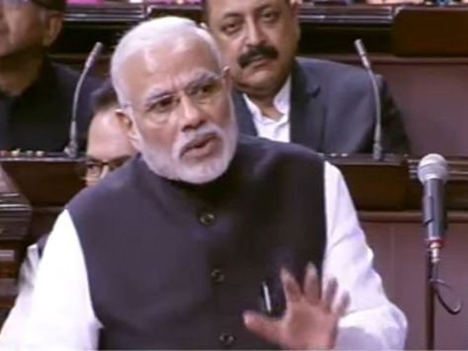 Modi pulls up BJP MPs for absence in Parliament