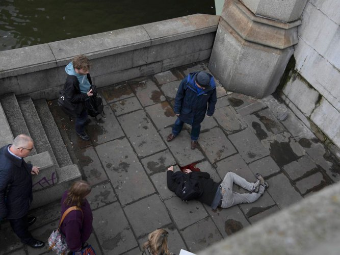 Policeman stabbed, several injured in UK parliament 'terrorist attack'
