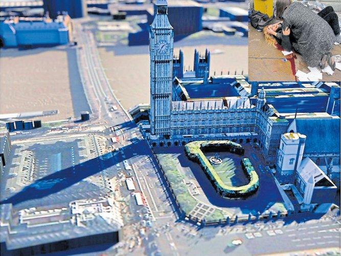 5 killed, 40 injured in UK Parliament terror attack