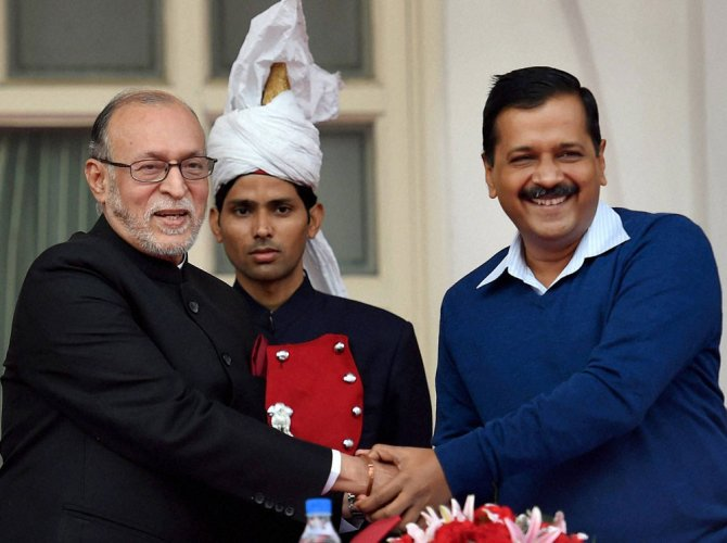 Recover Rs 97 crore from AAP in 30 days for ads: LG tells CS