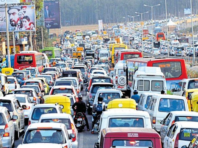 Ballari Road widening work, Hebbal flyover loop in limbo