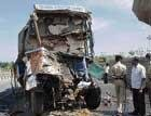 Three killed in accident in Tumkur