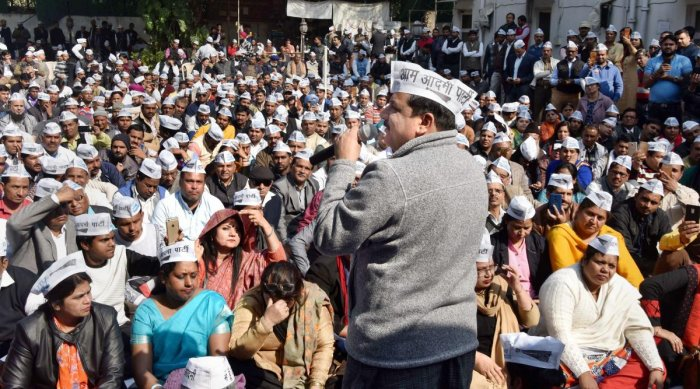 AAP announces 'Delhi bandh' on Jan 23 to protest sealing drive