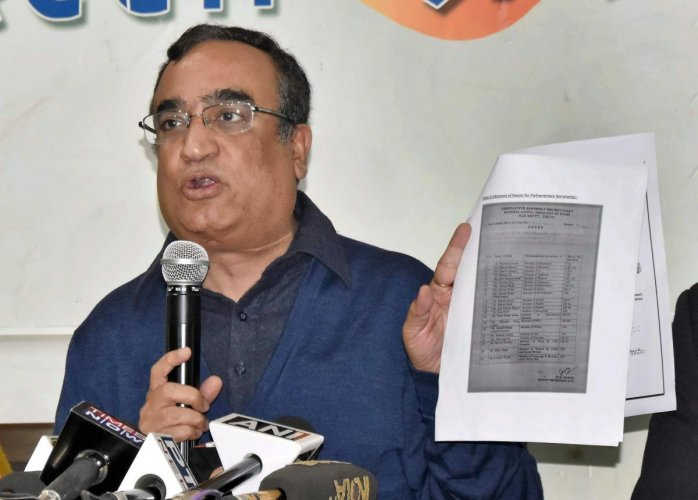 Collusion between AAP, BJP led to delay in sacking of MLAs: Cong