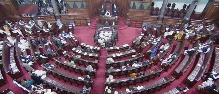 3 AAP MPs, one from BJP take oath in RS