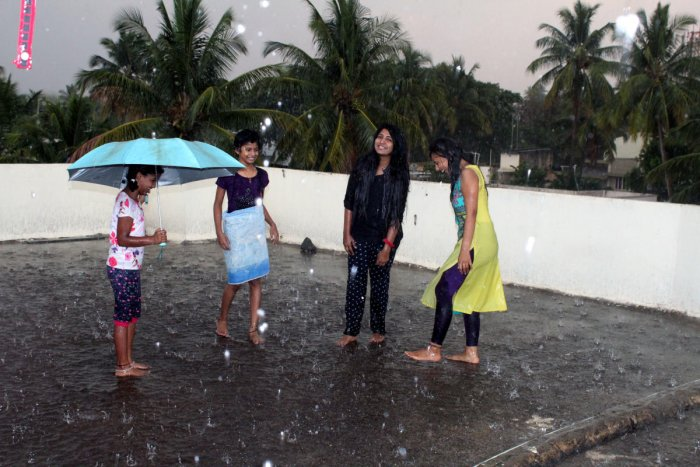 Light rain in Belagavi for second day