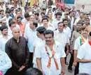 Bellary ministers launch rally to counter Congress padayatra