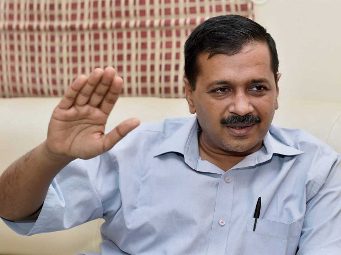 "Kejriwal described the verdict as ""a big victory for the people of Delhi...a big victory for democracy"". (PTI file photo)"