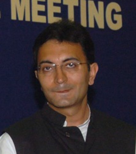 Congress leader Jitin Prasada seen in this picture. Photo via Wikipedia.