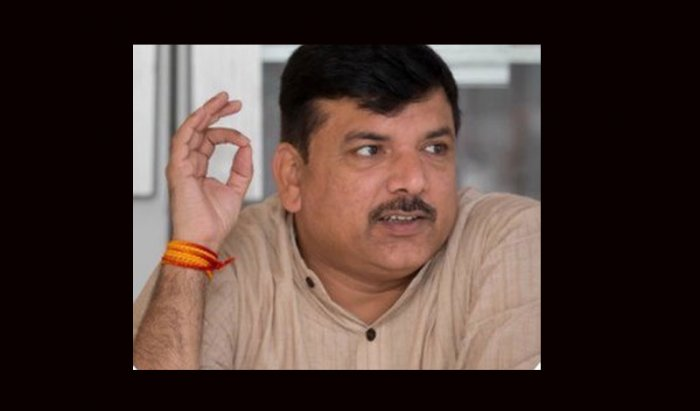 Soon after Election Commission's decision to hold a press conference to announce Lok Sabha election dates on Sunday, senior Aam Aadmi Party (AAP) leader Sanjay Singh pointed fingers at the national poll body accusing it of scheduling it keeping in mind Prime Minister Narendra Modi's programmes. Picture courtesy Twitter